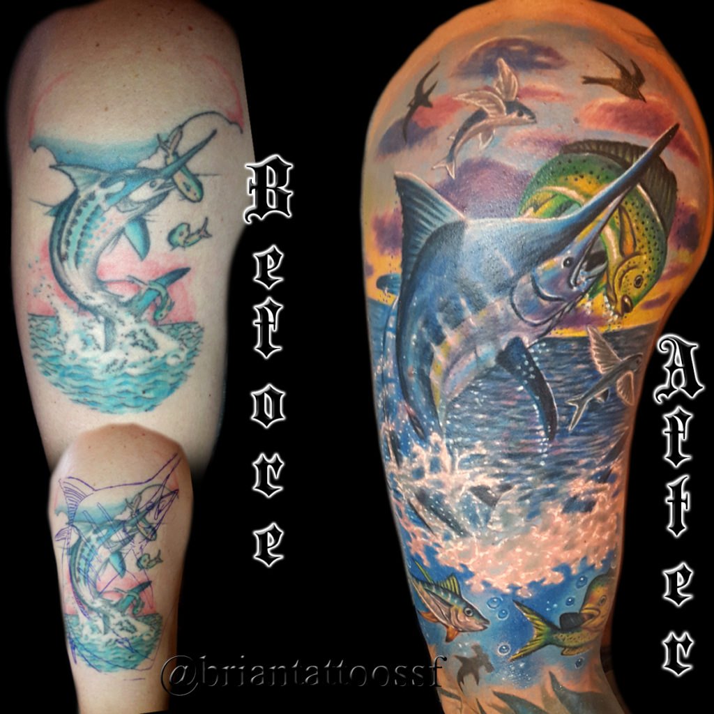 best cover up tattoo artist in San Francisco
