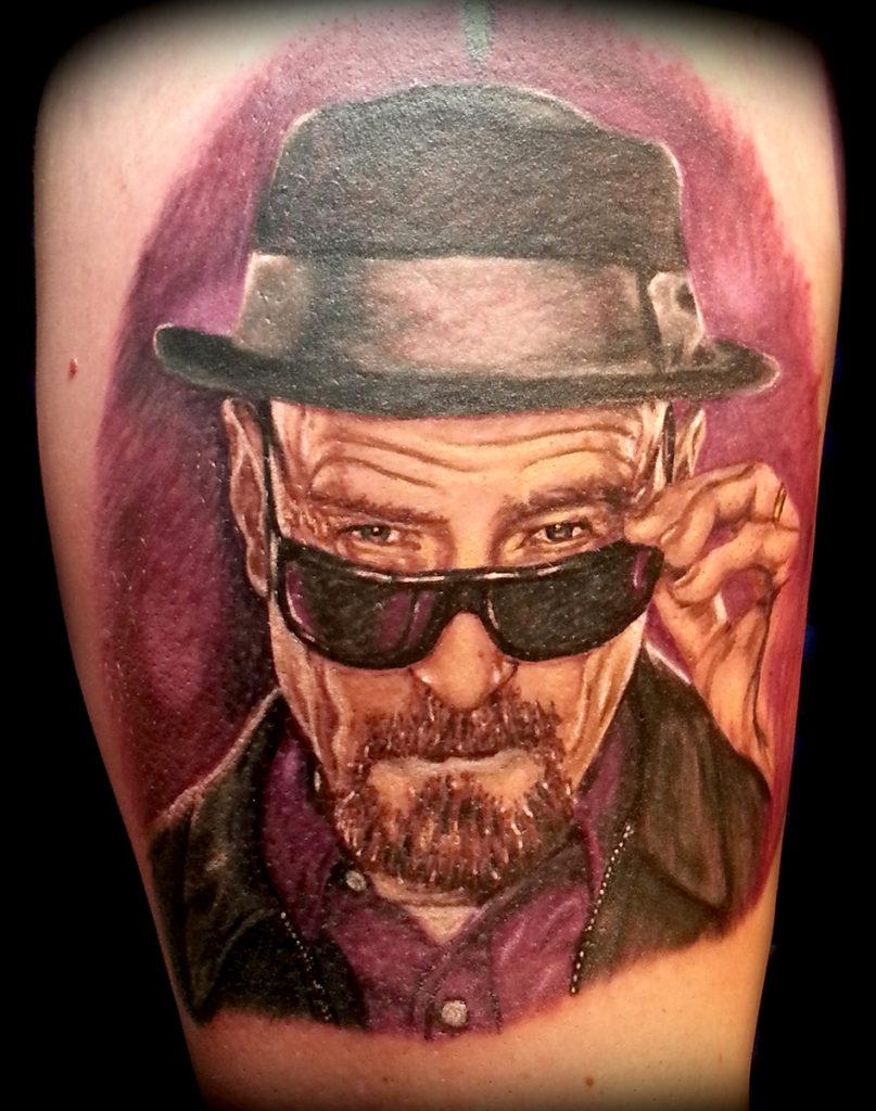 portrait tattoo artist