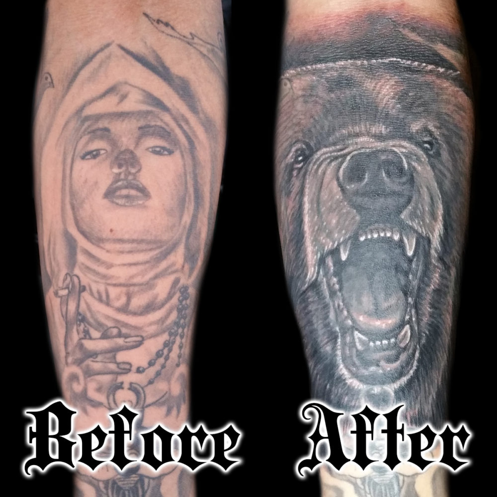 Cover-up Tattoos San Francisco