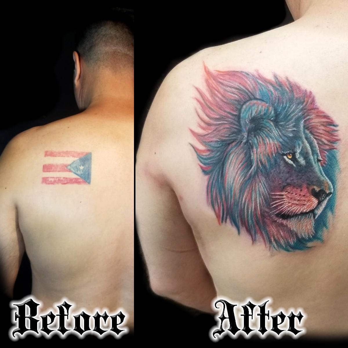 Cover Up Tattoos San Francisco
