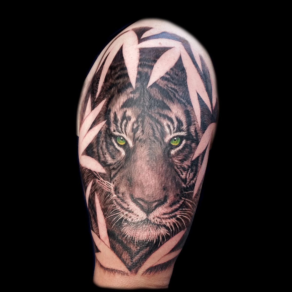 Realistic Tiger Tattoo Done At Masterpiece Tattoo In San Francisco Explore creative & latest tiger tattoo ideas from tiger tattoo images gallery on tattoostime.com. realistic tiger tattoo done at